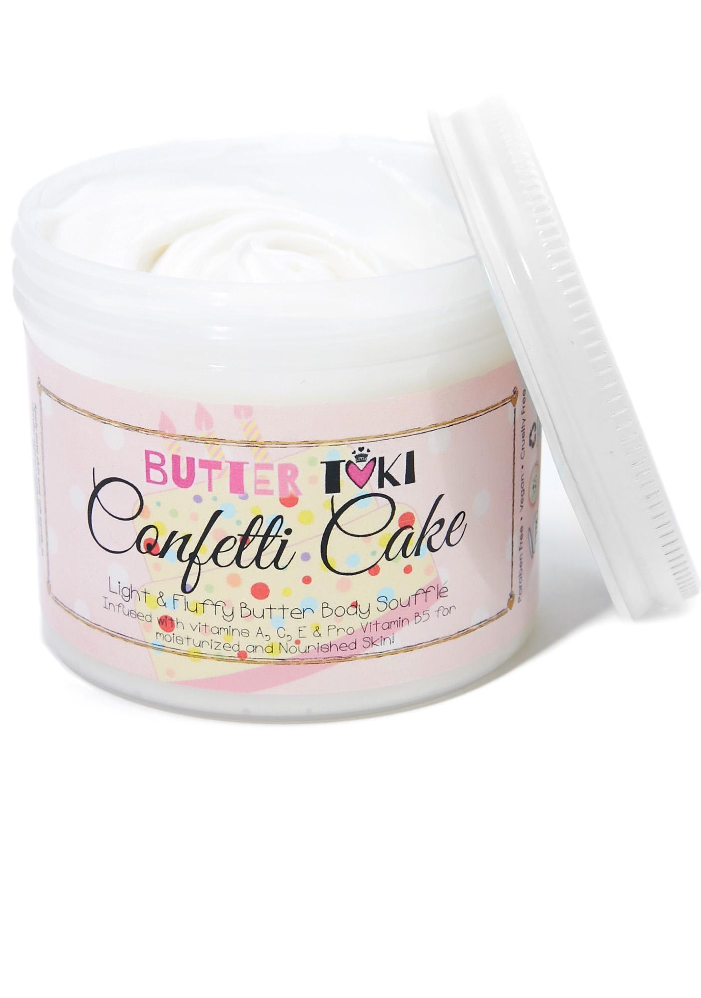 Butter Toki Confetti Cake Body Soufflé