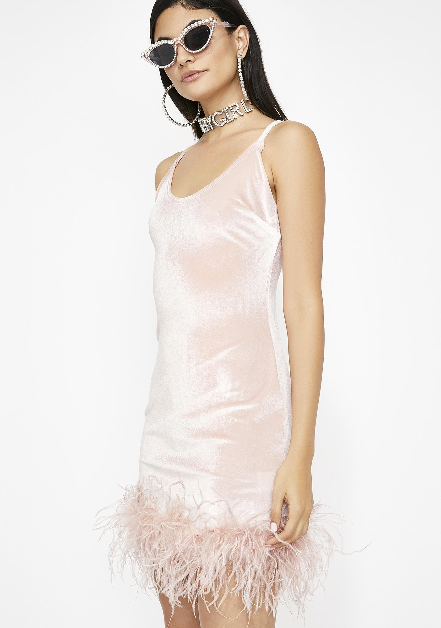 Miss Know My Worth Velvet Dress