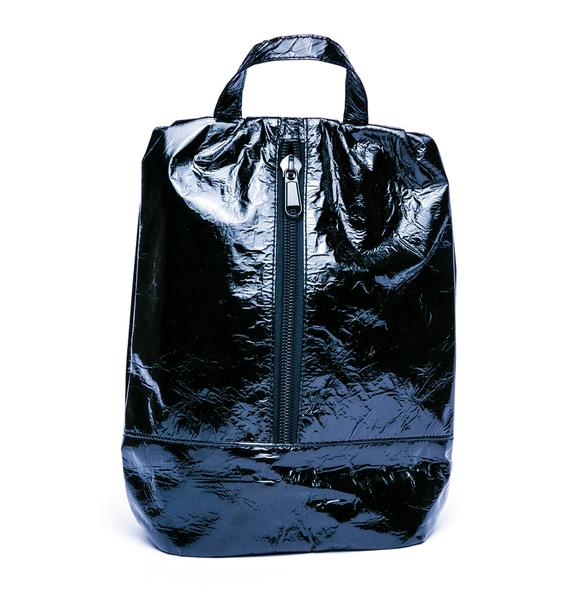 Motel Distressed Hologram Backpack