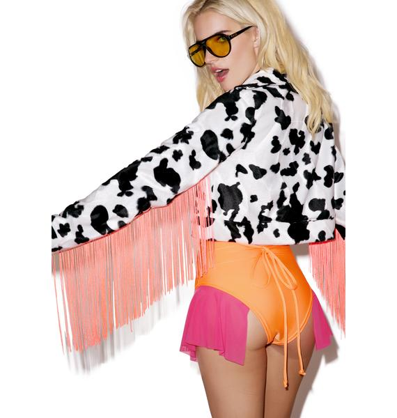 Jade Clark Jessie Tassel Jacket