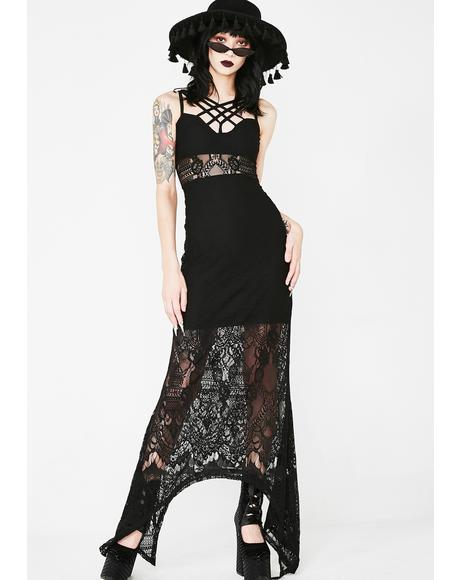 Deadly Beloved Maxi Dress