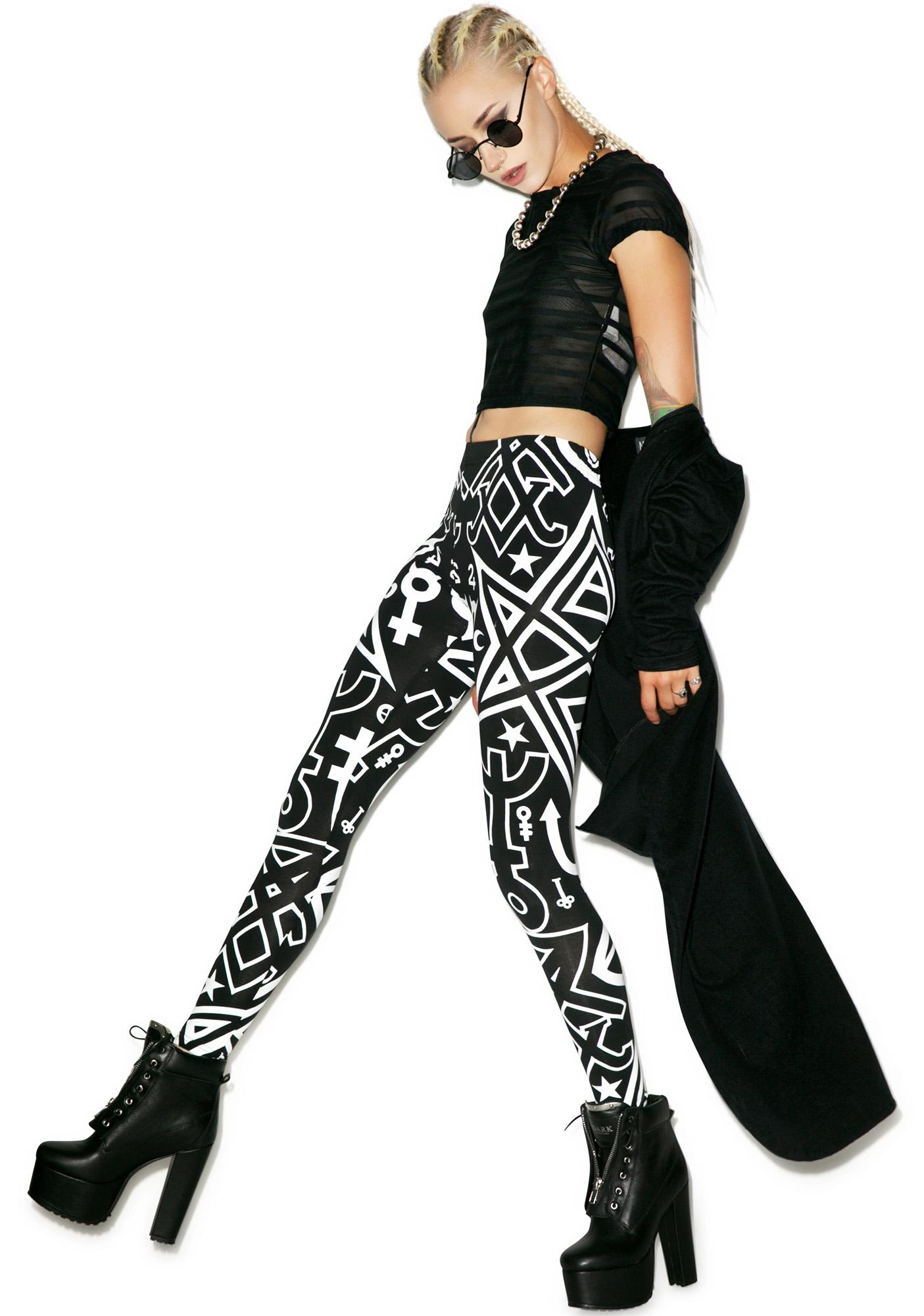 Killstar Thelema Leggings