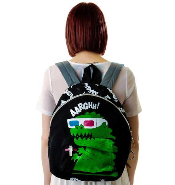 3D Dino Backpack