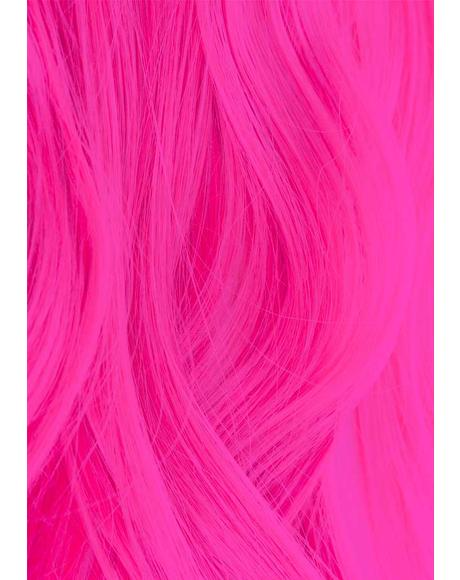 UV Reactive 310 Neon Pink Hair Dye
