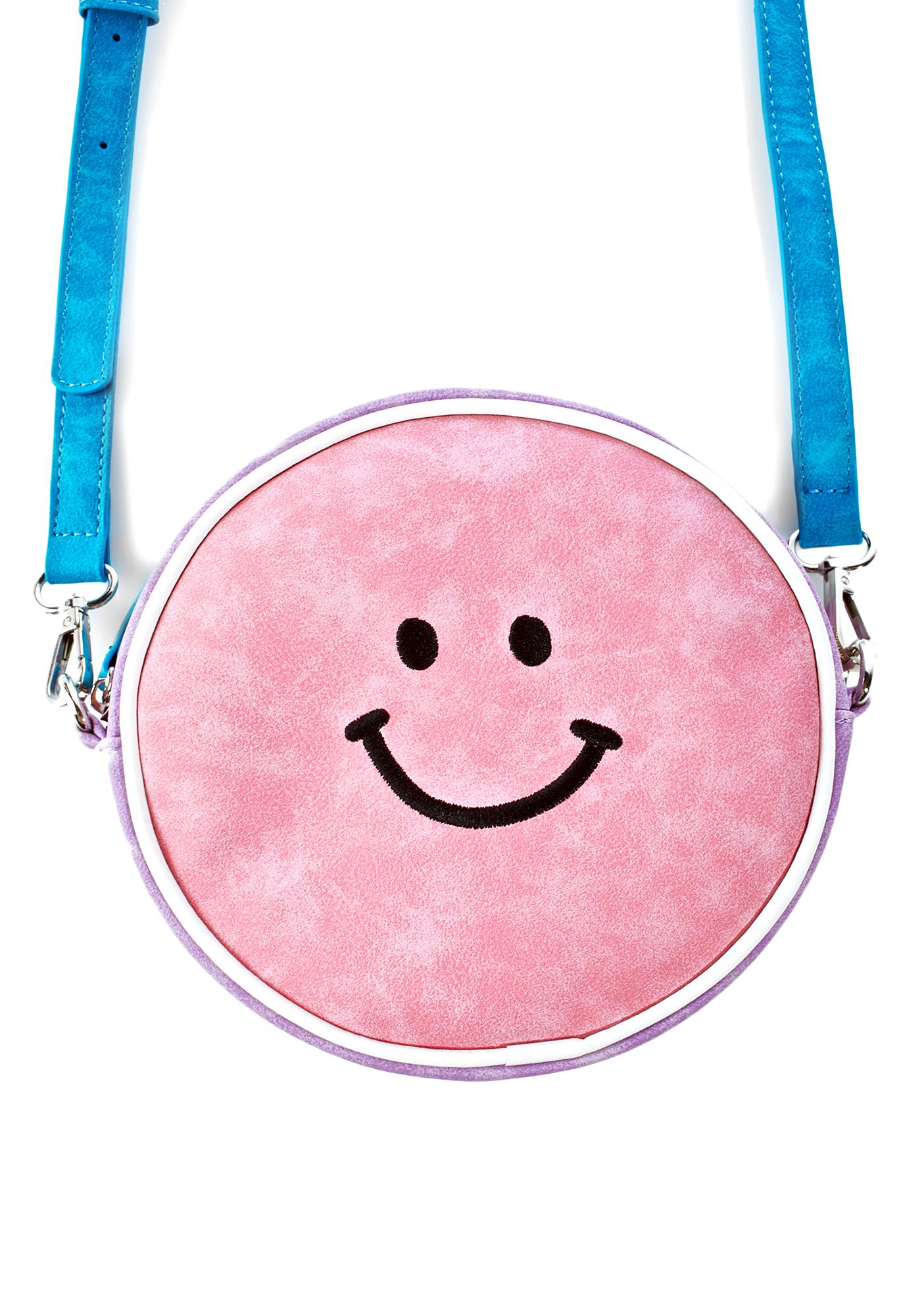 Lazy Oaf Moody Face Circle Bag