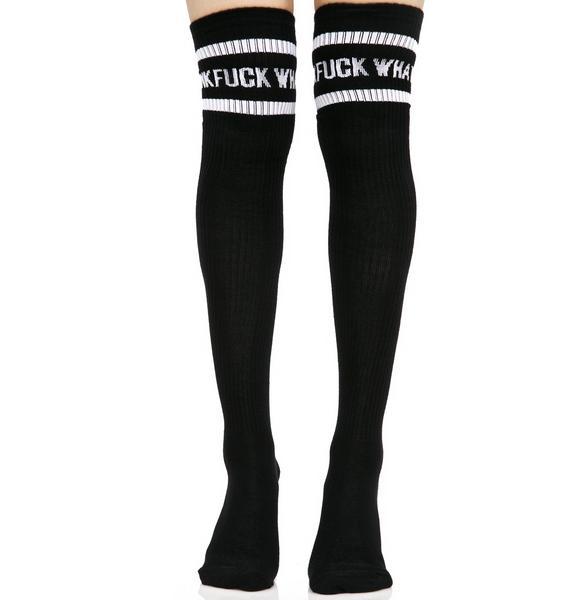 Killstar None Given Sporty Socks