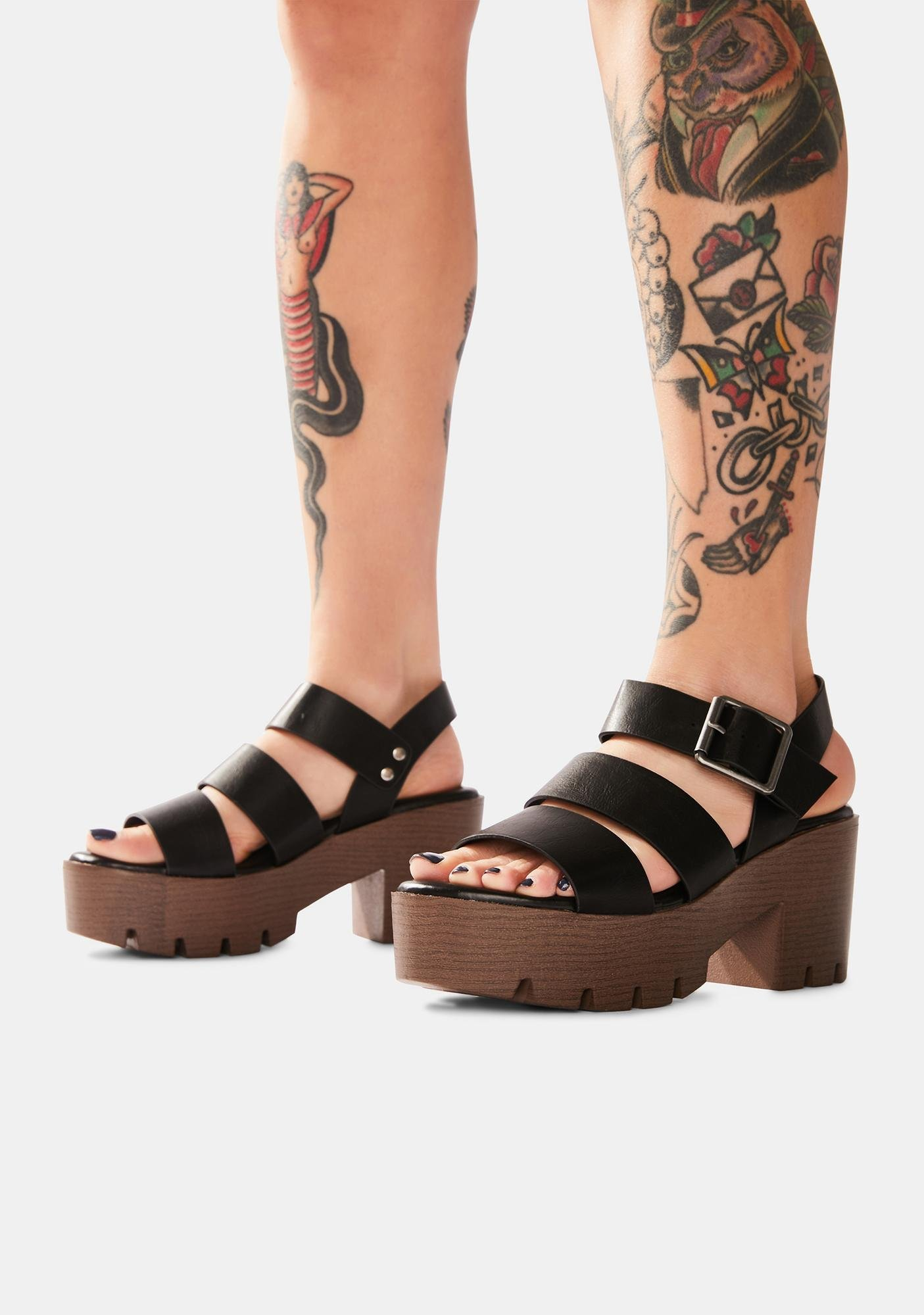 Night Farm To Fable Platform Sandals