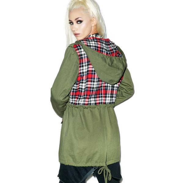 Evil Twin Army Anorak