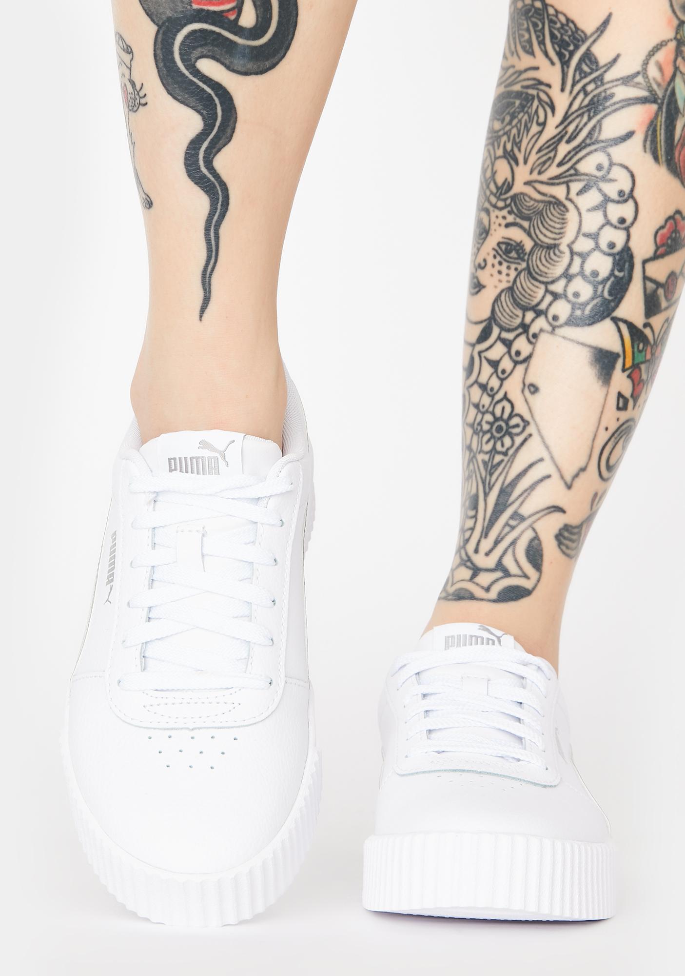 PUMA Iridescent Carina Classic Sneakers