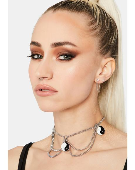 Bad And Evil Chain Choker