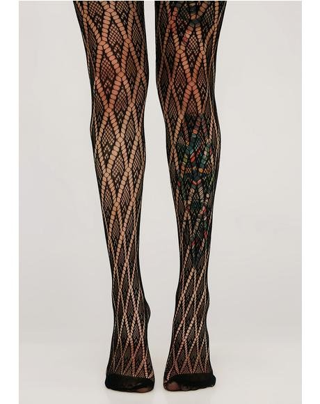 Rare Diamond Tights