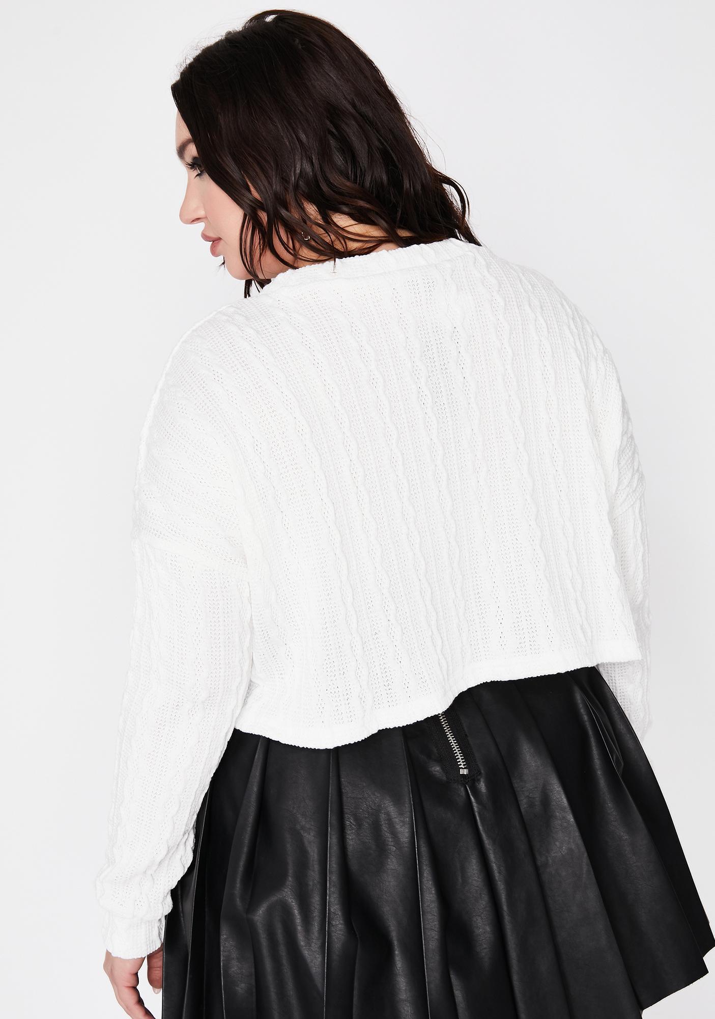 Legit Missed Calls Knit Sweater