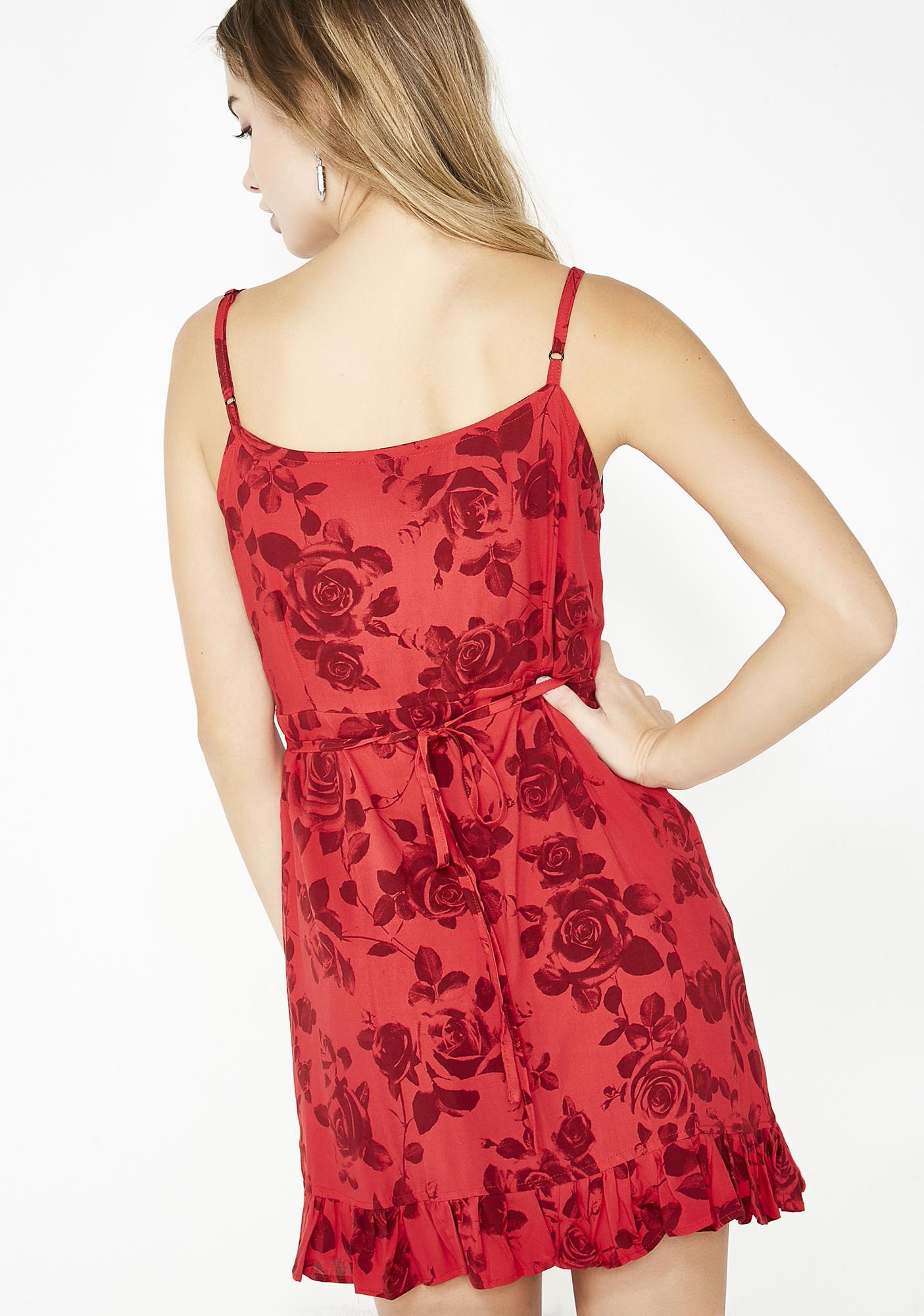 Motel Scarlet Lasky Dress