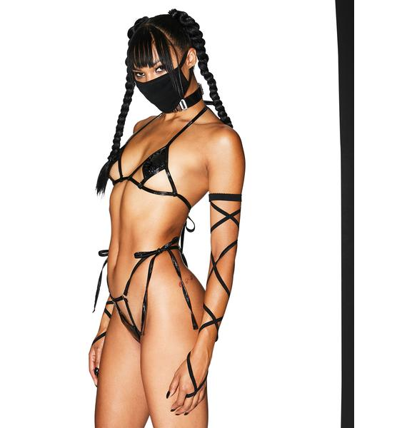 Club Exx Android Experience Lingerie Set