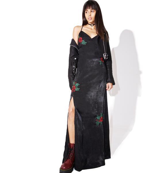Rosy Cheeks Maxi Dress
