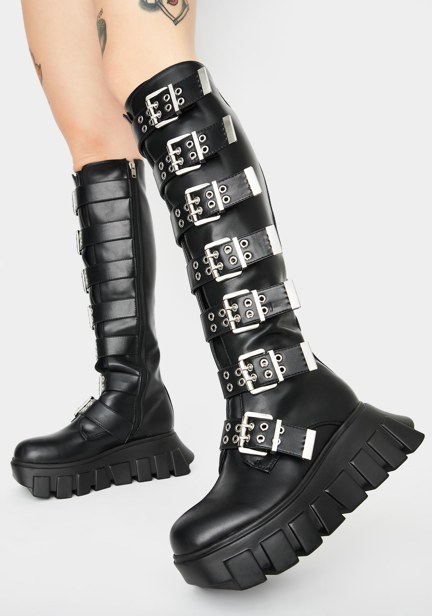 Lamoda Say What Knee High Boots