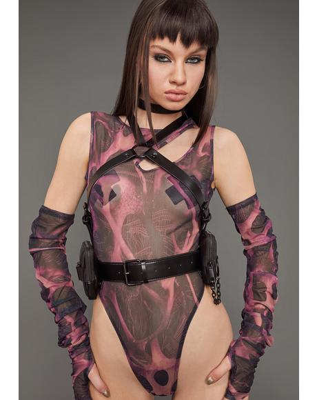 Paid To Slay Body Harness
