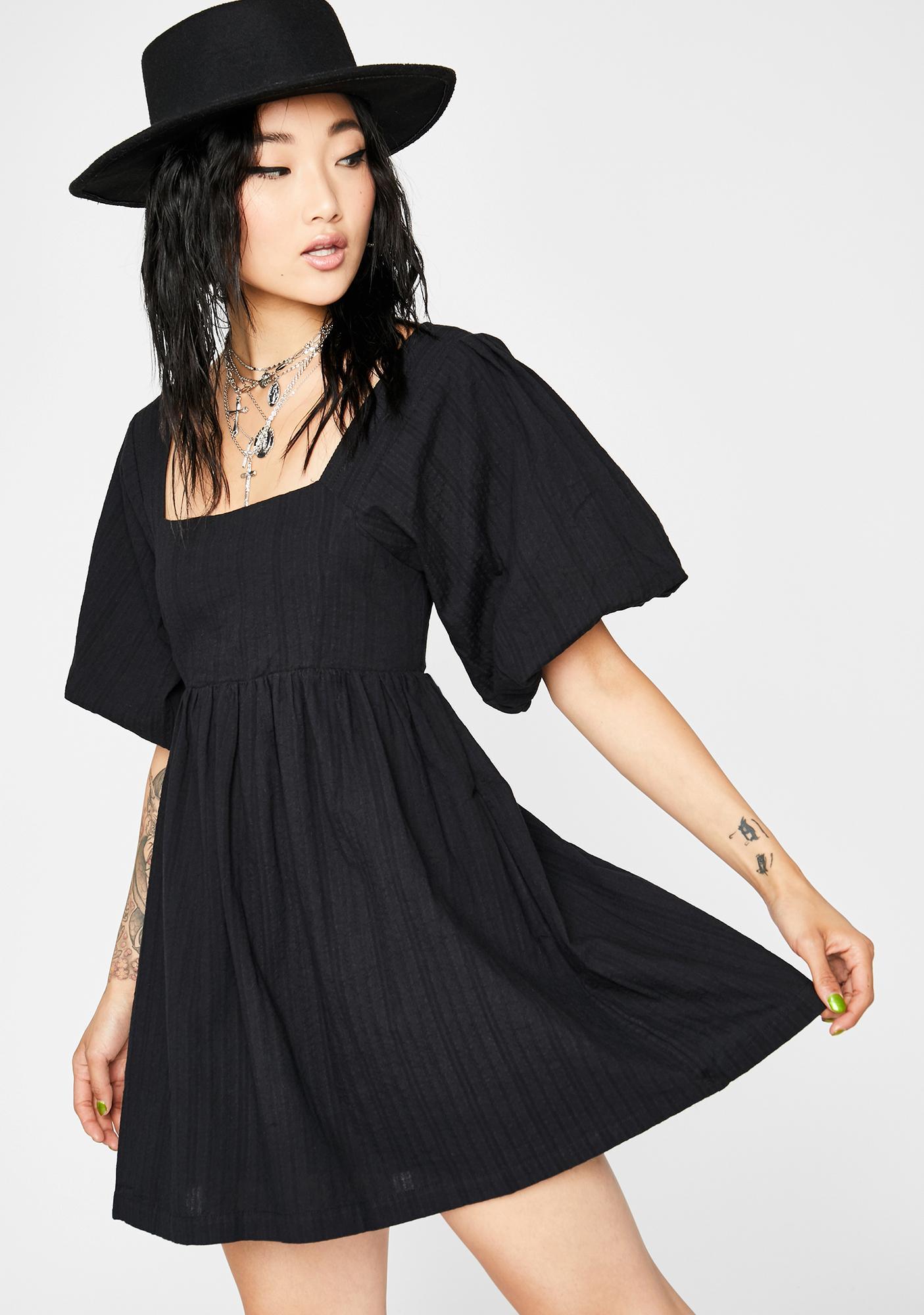 Runaway Sweetheart Mini Dress
