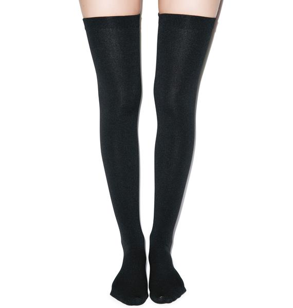 Plush Warm N' Stylin' Thigh Highs