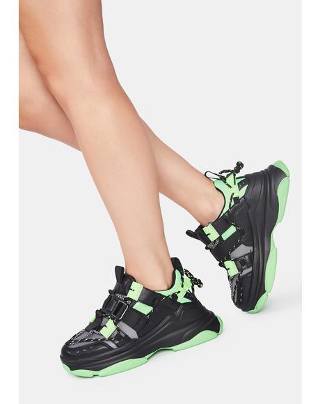 Astro Stomp Platform Sneakers