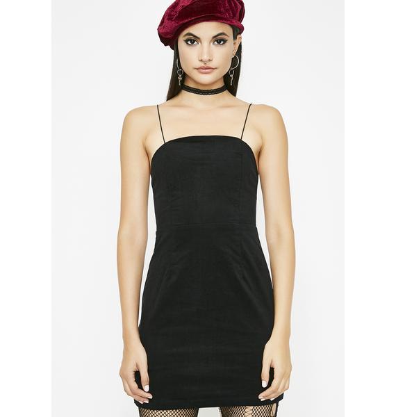 Not Above Love Velvet Dress