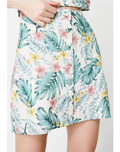 In The Tropics Skirt