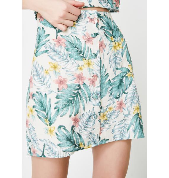 In The Tropics Skirt