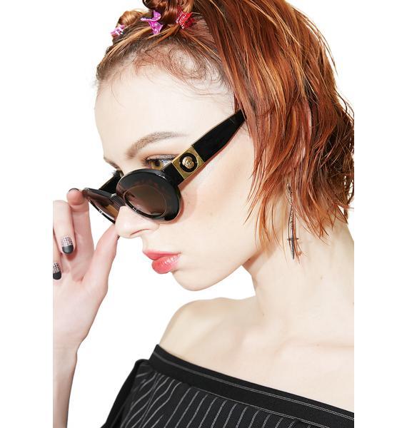Eye To Eye Oval Sunglasses