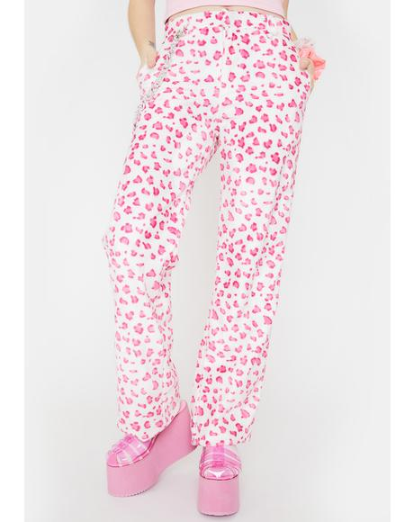 Pink OG Leopard Chain Pants
