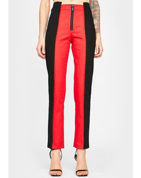 Double Trouble Colorblock Trousers