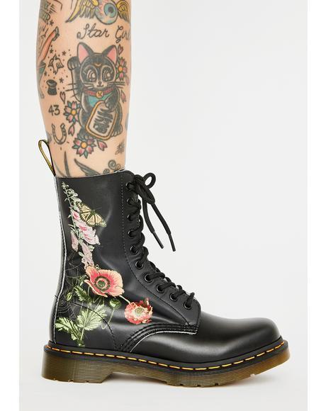 1490 Wild Botanics Combat Boots