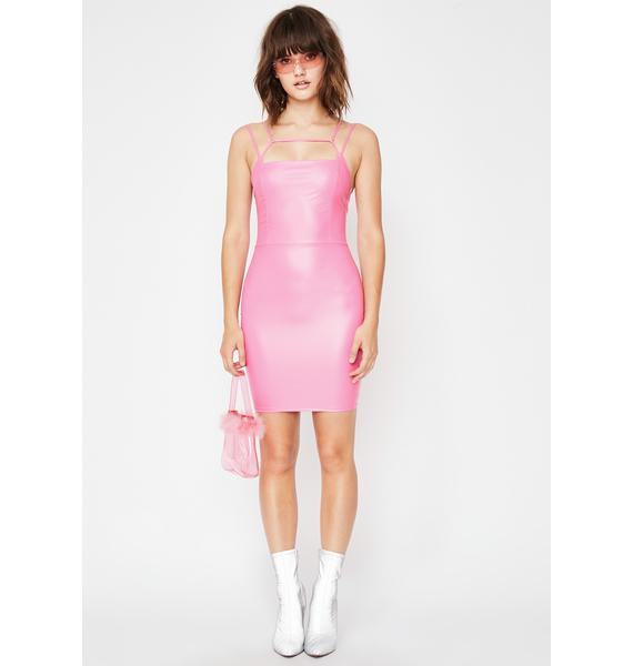 3b0af25fa93 ... Bubblegum Femmebot Vinyl Dress ...