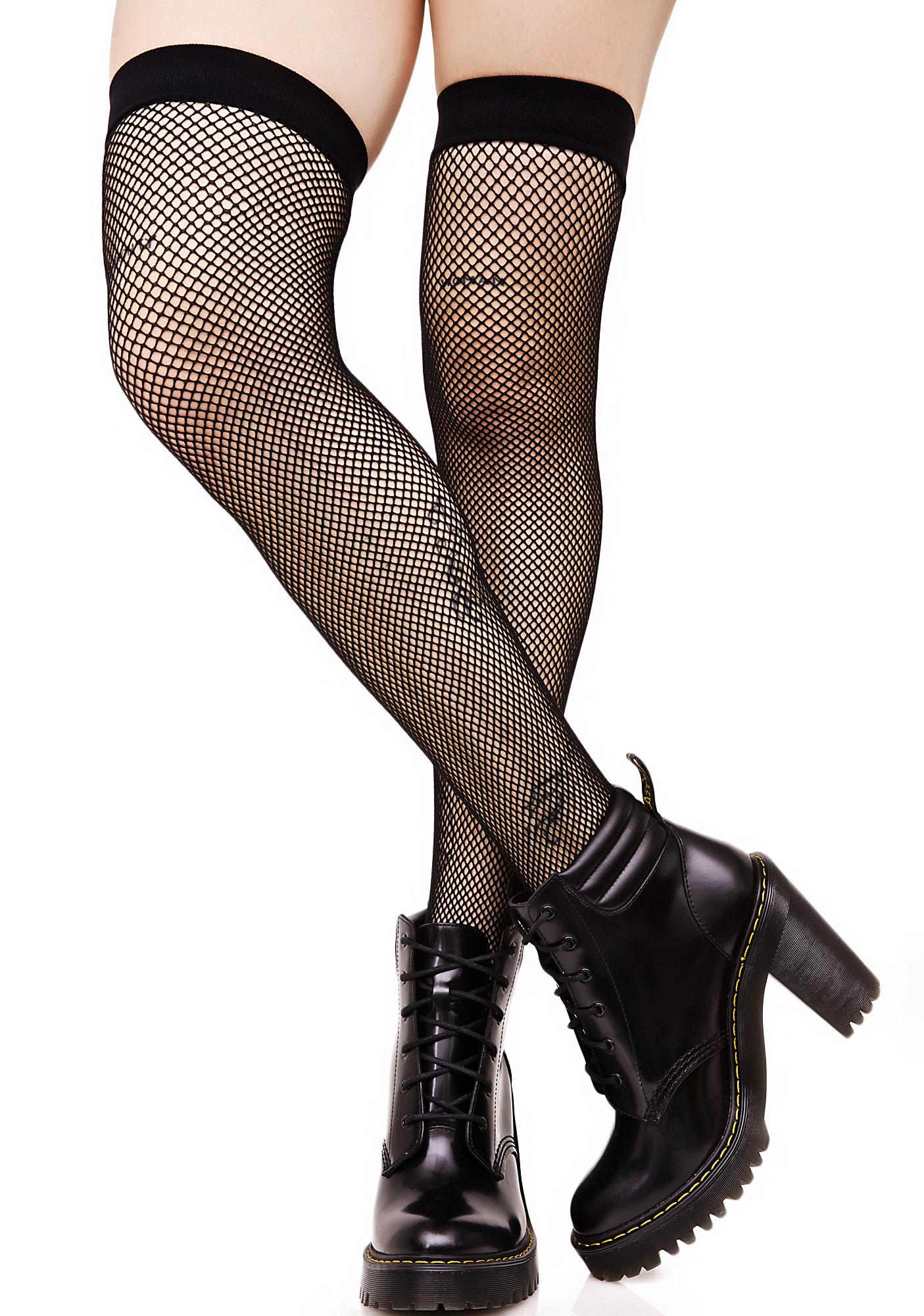ef739756a ... Everyday Slay Fishnet Thigh Highs ...