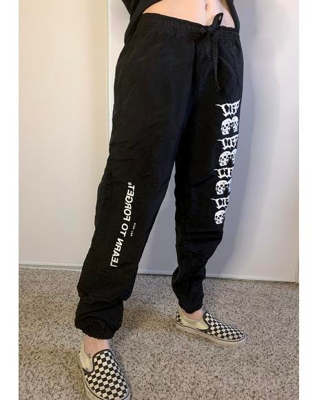 Love Torn Logo Joggers