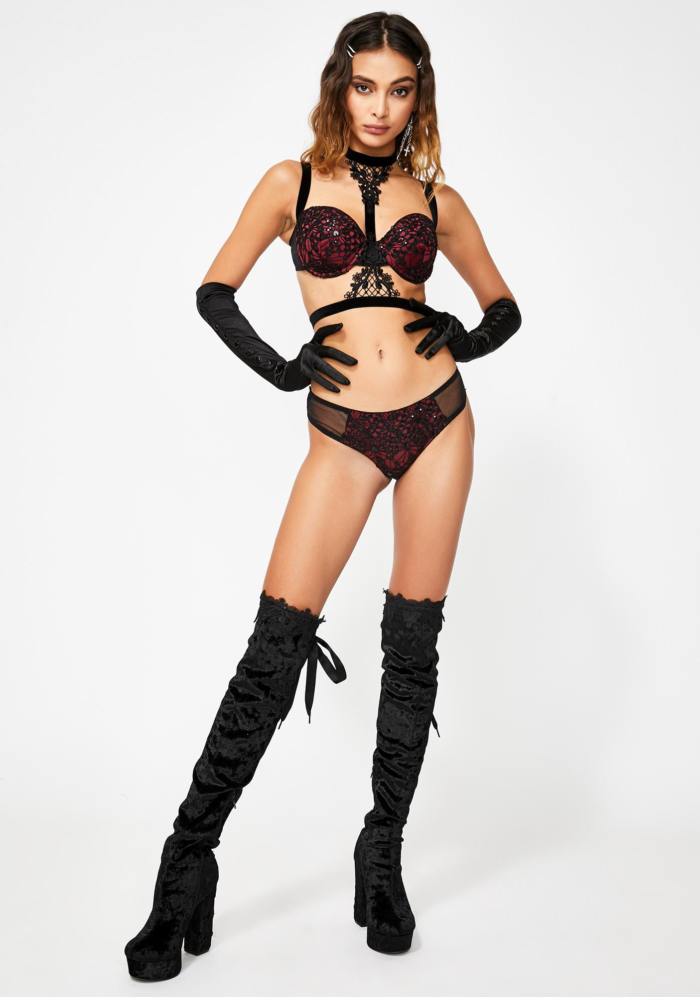 Hold You Down Lingerie Set