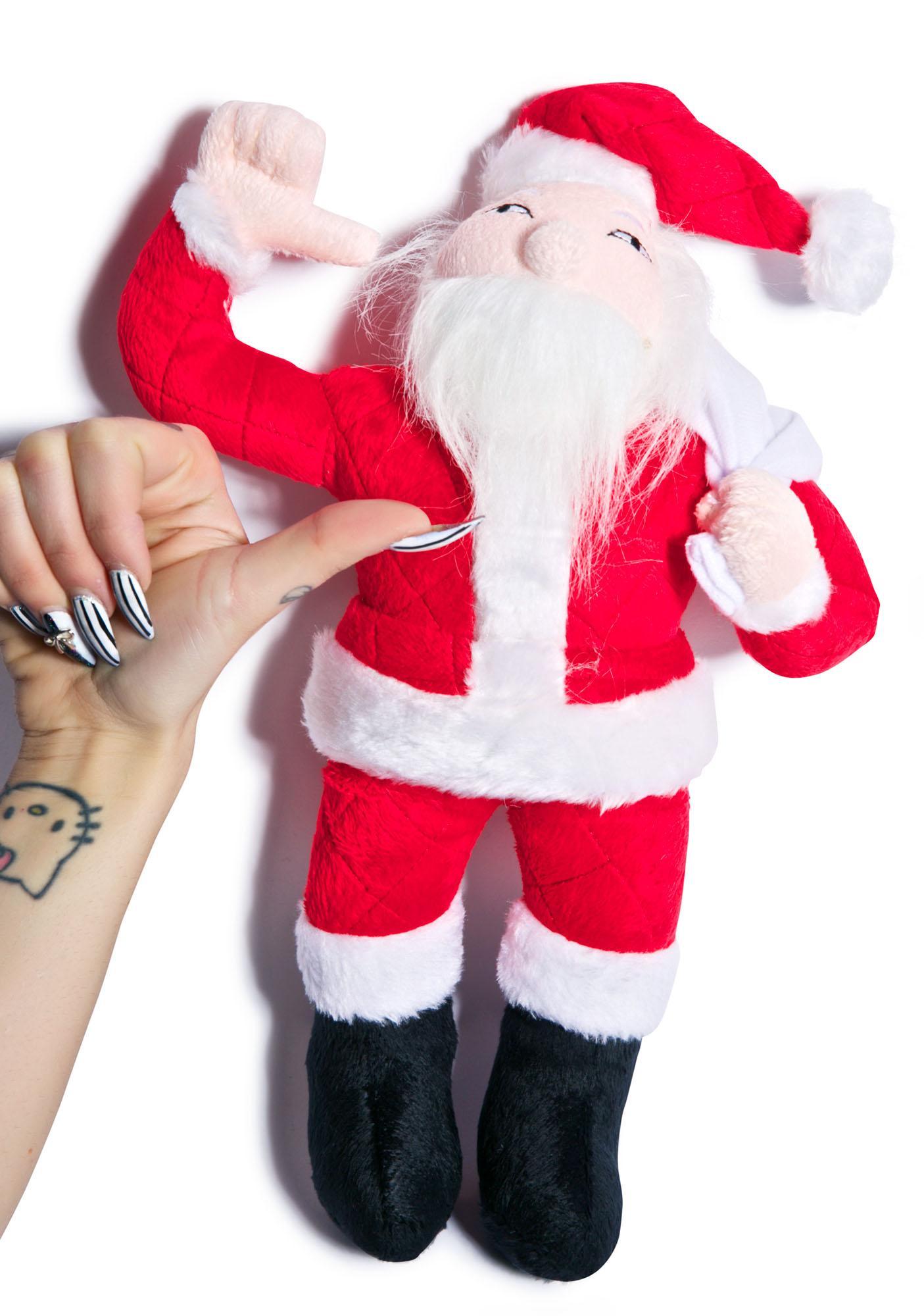 Artic Santa Dog Toy