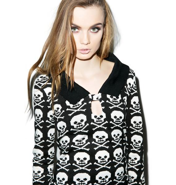 Skull N' Crossbonez Sweater