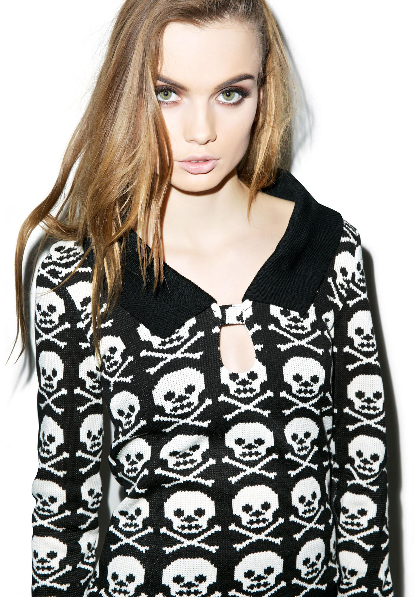 Skull N' Crossbonez Sweater