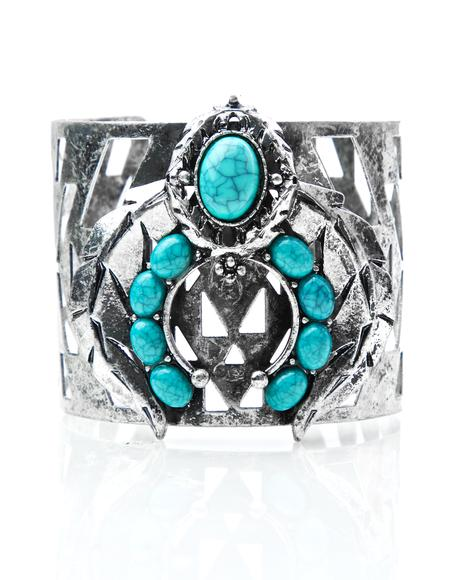 Chasin' The Sun Turquoise Cuff