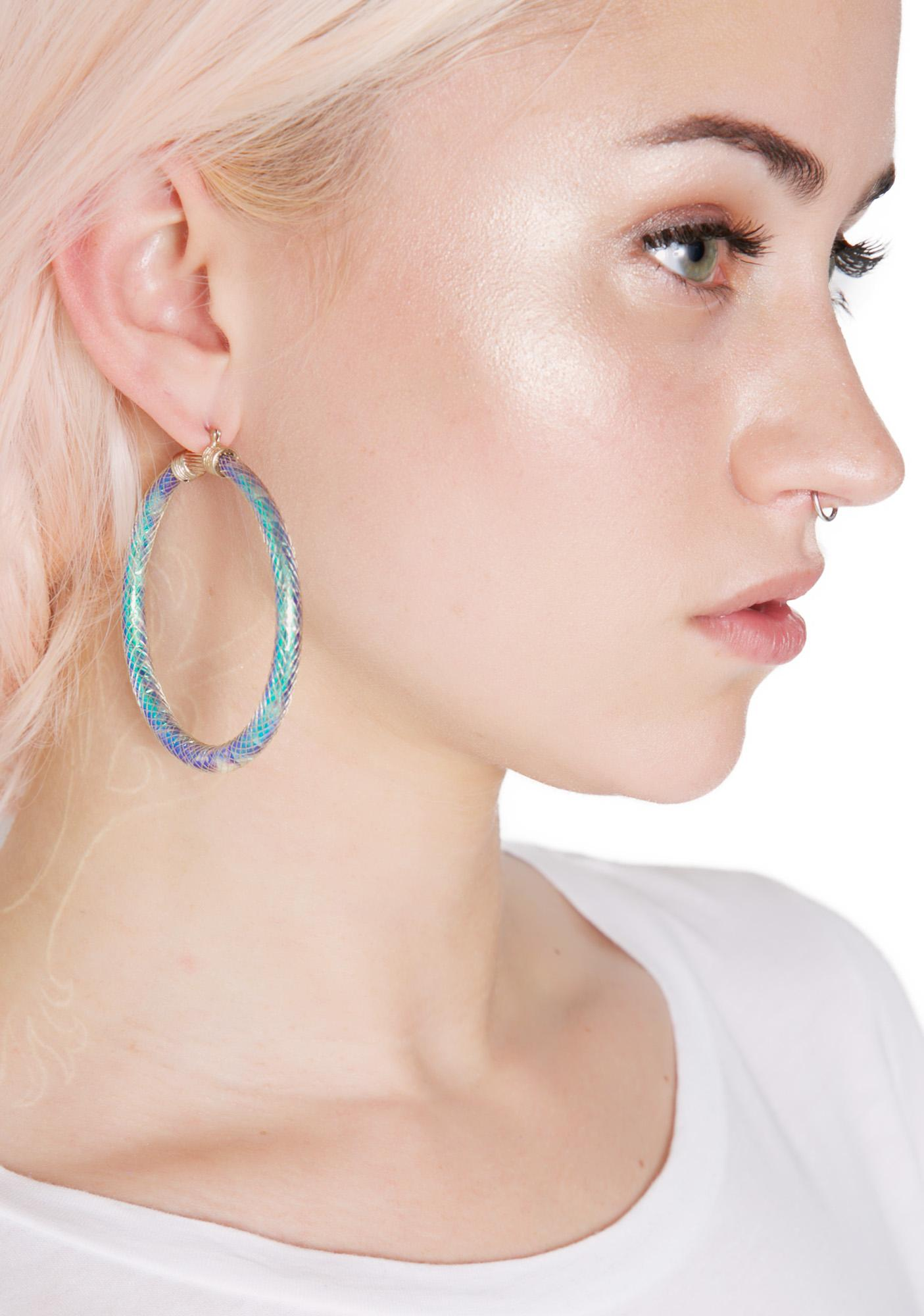 Majestic Scale Earrings