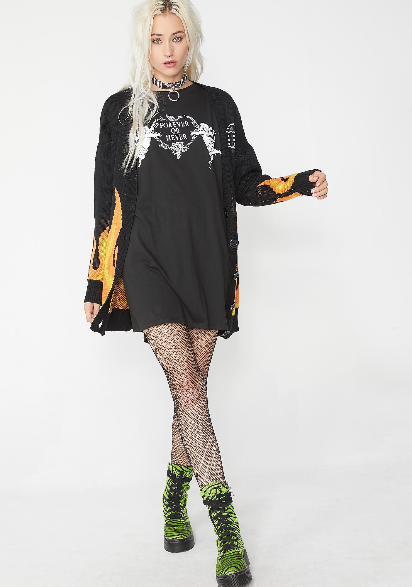 Motel Sunny Kiss Tee Dress