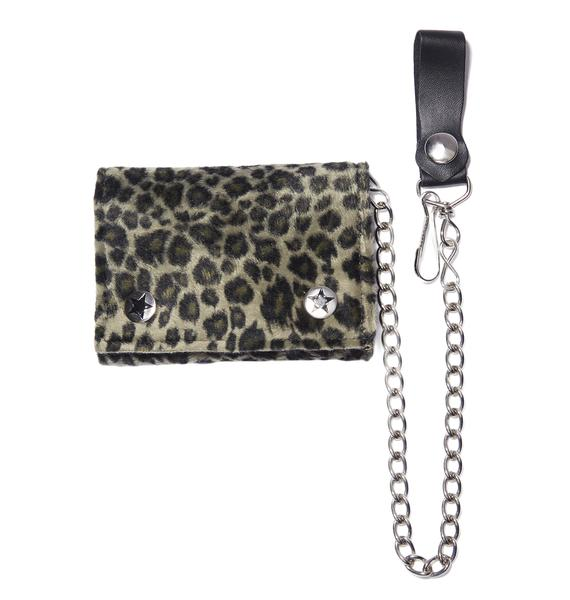 Cool Cat Chain Wallet