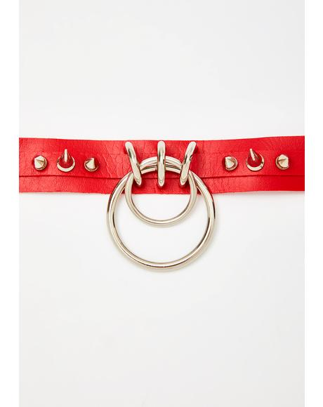 Hot Pain N' Pleasure O-Ring Choker