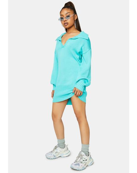 Gonna Get This Knit Mini Dress