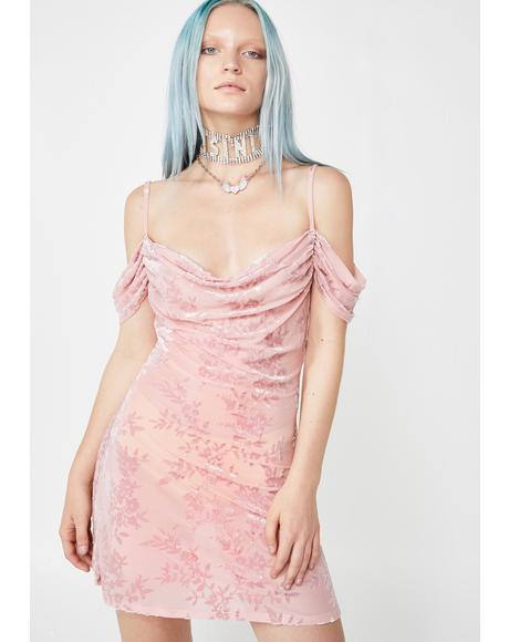 Love De Lux Velvet Dress