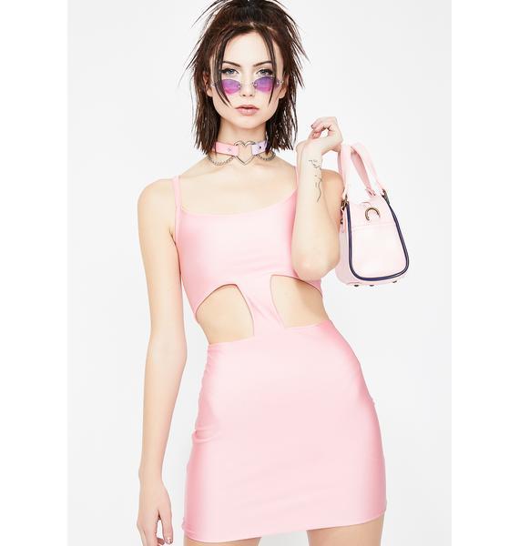 Posher Than U Cut Out Dress