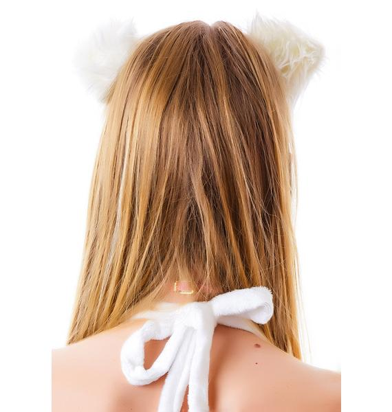 Soft Kitty Fur Ears