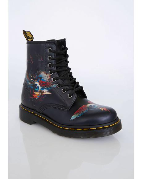 1460 Rick Griffin Eye Boots