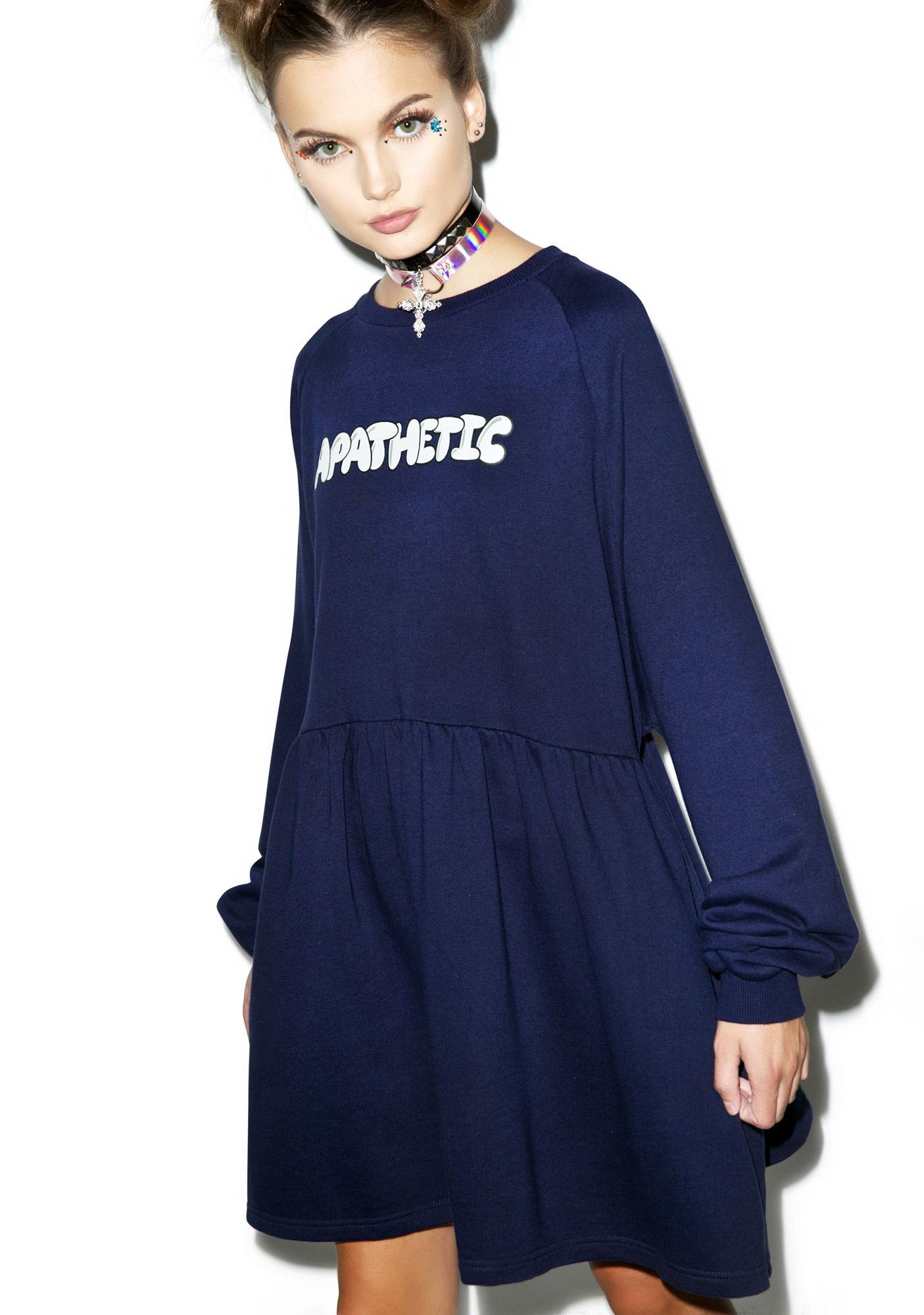 Lazy Oaf Apathetic Sweater Dress
