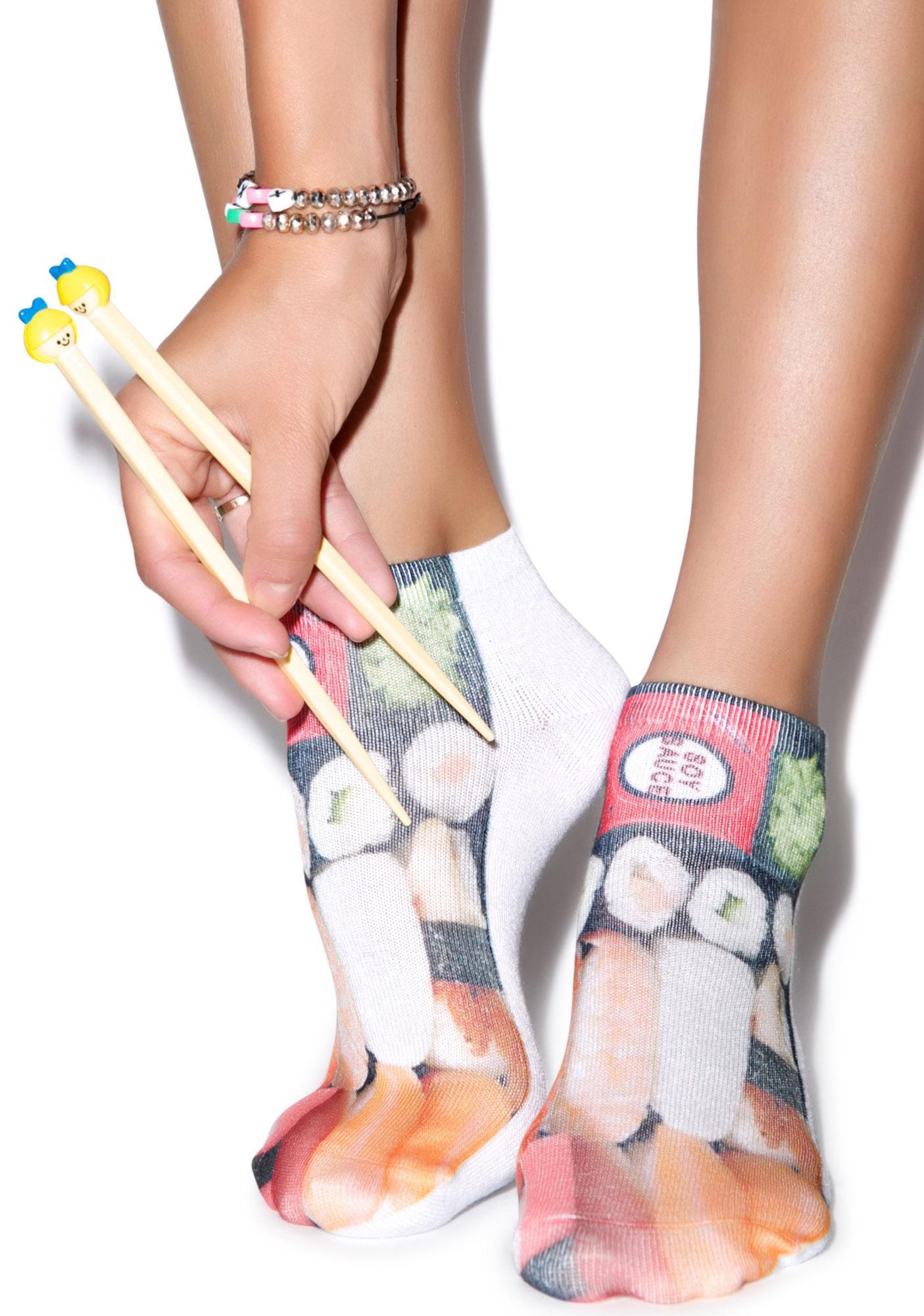 We Like It Raw Ankle Socks